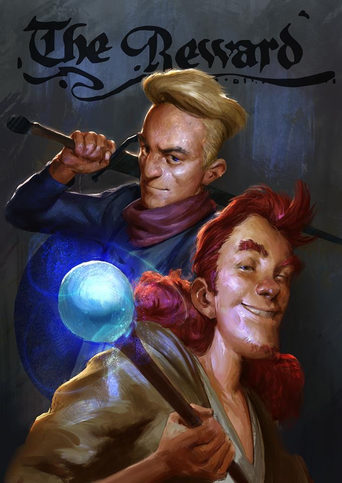 Vito and Wilhelm are best buddies and have been through many adventures together. Wilhelm is a focused and serious warrior while Vito is a spontaneous and flighty wizard.
