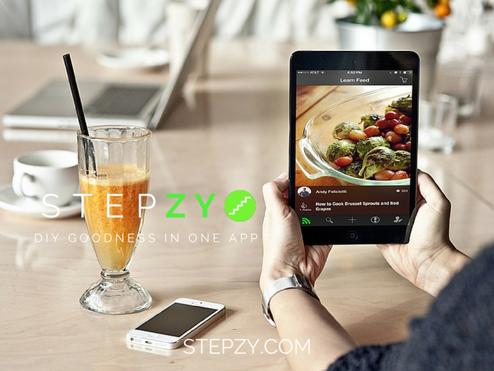 THANK YOU FOR MAKING STEPZY A REALITY! Make, buy & sell DIY products w/your phone.  #aspiredsteps