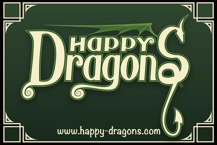 Happy Dragons! Whimsical Dragon Sculptures. A full line of cute collectable dragon figurines.