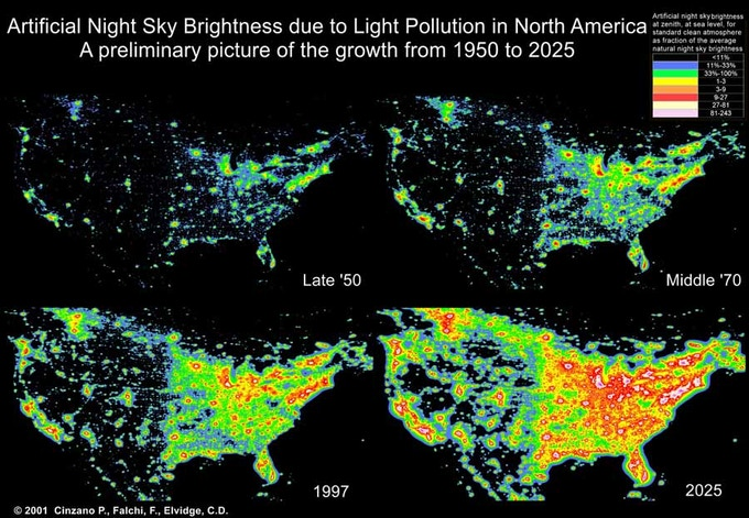 Light Pollution Threatens to Wipe Out Dark Skies