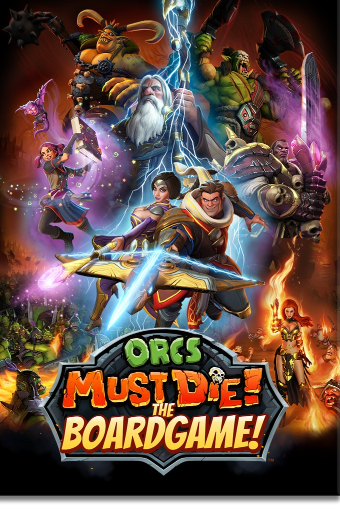 the award winning game orcs must die has at last made its way to the table top orcs must die the boardgame dares you to preserve your stronghold sieged - Orcs Must Die