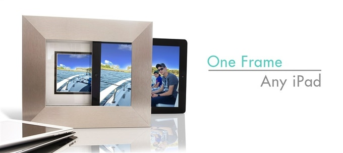 Any generation of iPad fits in the iSotto Frame—from the iPad One to the iPad Air 2, even the iPad Mini.***
