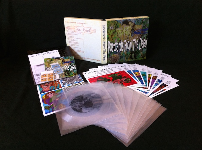 Fruits de Mer Records' Postcards From The Deep box set