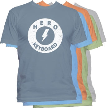 Backers in the T-shirt reward range will get to choose their color and size.