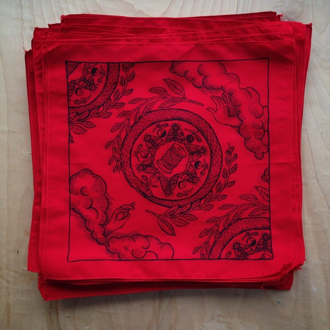 Red Fortuna Hanky