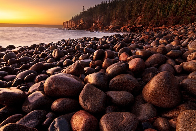 """Quotes About Acadia Maine: """"Glory Of The Northern Rocky Mountains"""" Photography"""