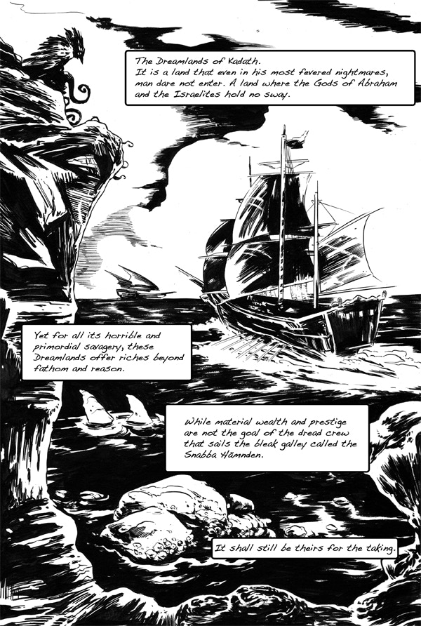 Captain Anna Arrives - From issue 0.