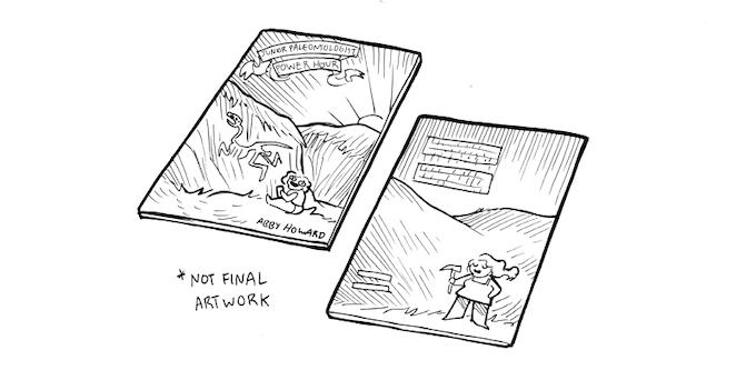 """""""Junior Paleontologist Power Hour"""" mock-up"""