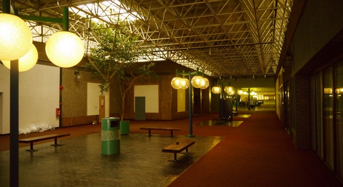 Every good horror movie needs a vintage mall location!
