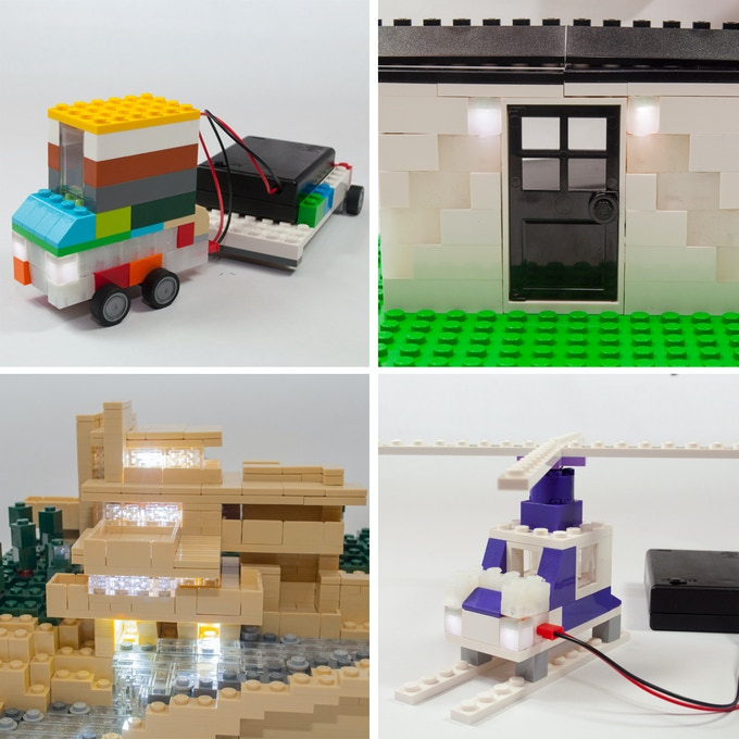 These are only a few of the projects that highlight our bricks, we can't wait to see what you do!