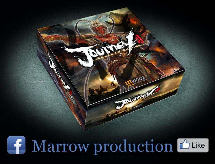 Journey: Wrath of Demons is a cooperative miniatures board game for 1-4 players. Is it your destiny to save the world?