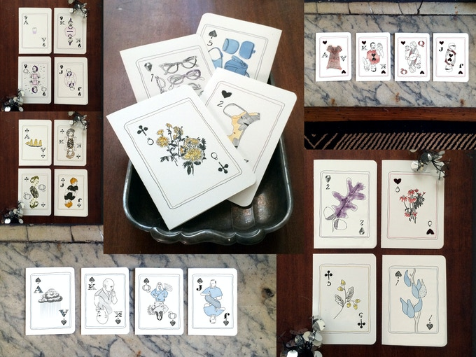 Choose a card set to go with the Full House set for $150