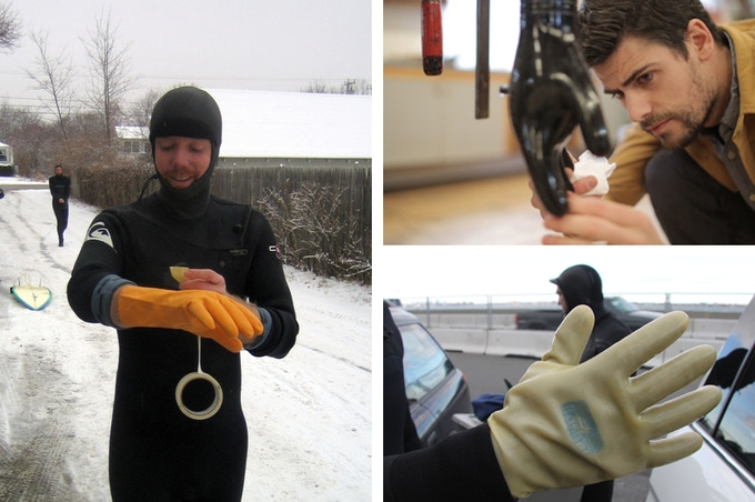 Furnace was built by cold-watermen who see an opportunity to make the world's best cold water gear. We've prototyped over a dozen versions of the Response Dry Glove and personally tested them all.