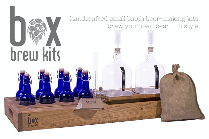 Hopbox handcrafted brewing kits by michael langone for How to brew your own craft beer