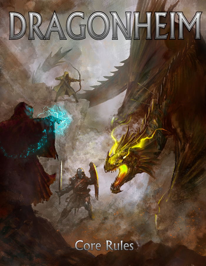 An original fantasy roleplaying game that introduces 2d20 combat, open-ended character creation, and for the first time ever: Primordial Magic!