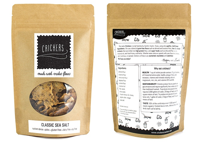Crickers Classic Sea Salt Crackers