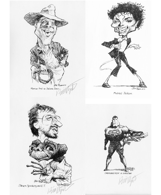 $100 - Limited edition caricature prints signed by Bill Plympton