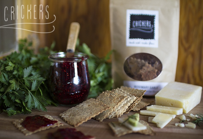 Crickers Crackers go great with your favorite spreads and cheeses!