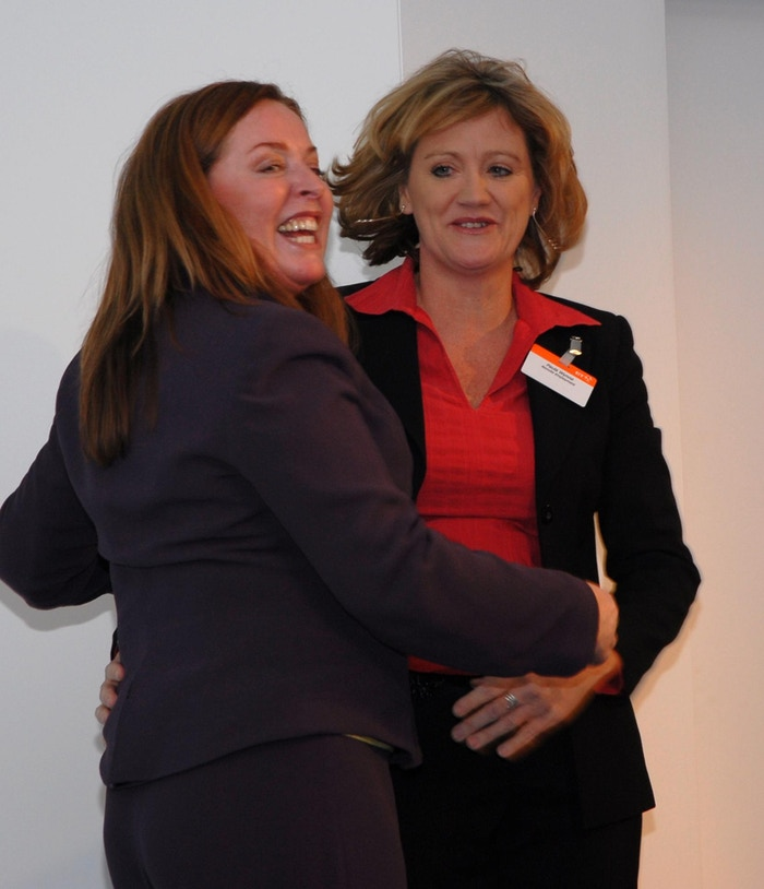 "The moment I ""won"" Karen Darby as my mentor!"