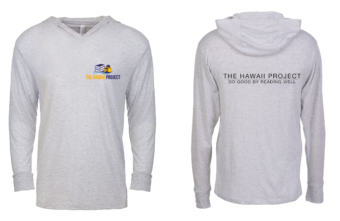 As part of the Big Kahuna reward: our long sleeve Hoodie Tshirt