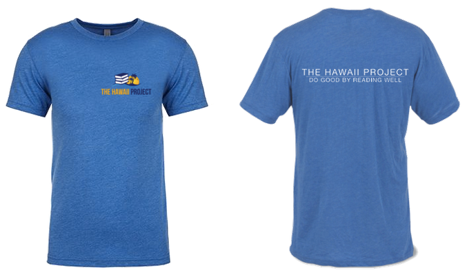 For the Kahuna reward, a soft, Next Level Triblend Tshirt