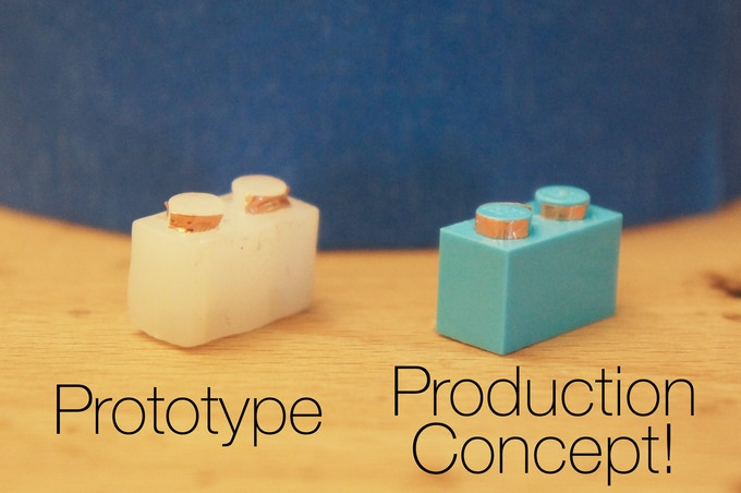 We have created these prototype bricks, but we need you to get to a production run!
