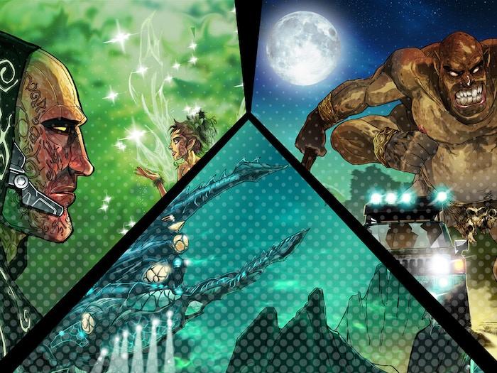 Exclusive Kickstarter Wallpapers