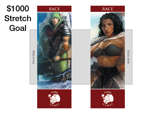 New Race Bookmark with New Artwork and Maroon Border Added to Player Pack (UNLOCKED)