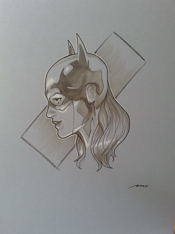 Batgirl commission by Pere Perez