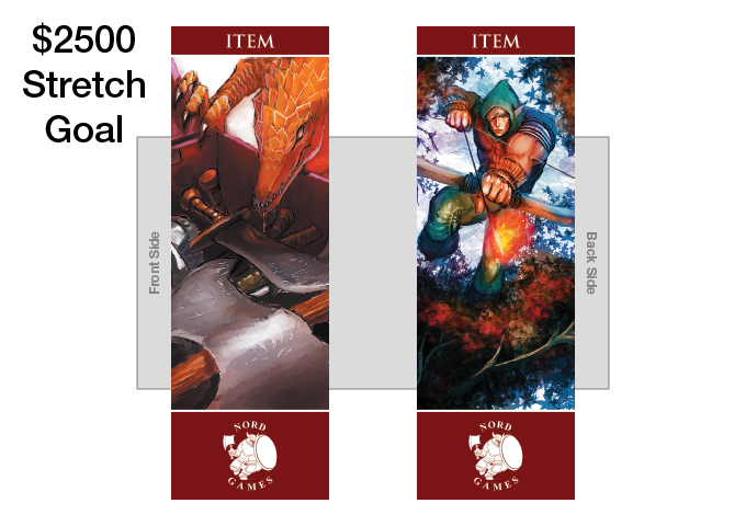 New Item Bookmark with new Artwork and Maroon Border Player and GM Pack (UNLOCKED)