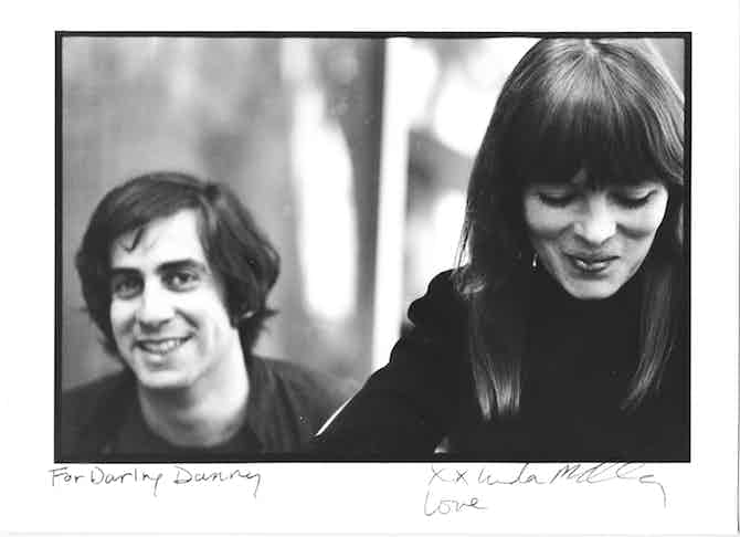 Danny Fields and Nico, photo by Linda Eastman