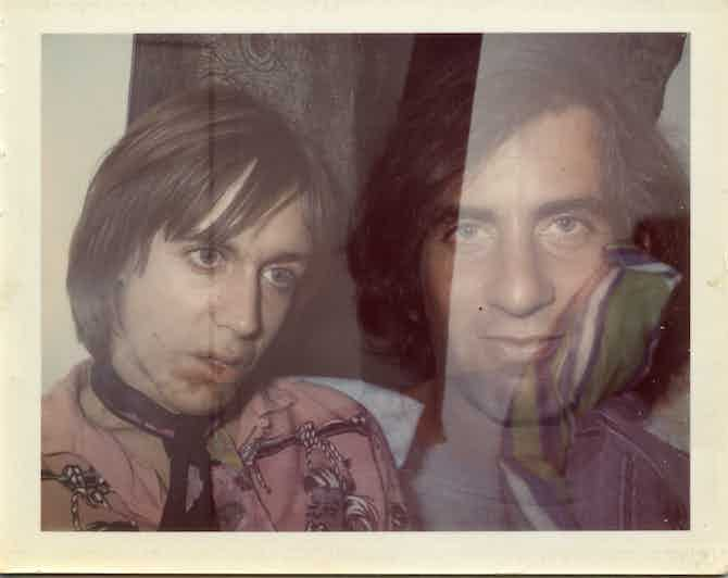 Danny Fields and Iggy Pop, photo by Brigid Berlin