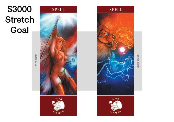 New Spell Bookmark with new Artwork and Maroon Border Added to Player and GM Pack (UNLOCKED)