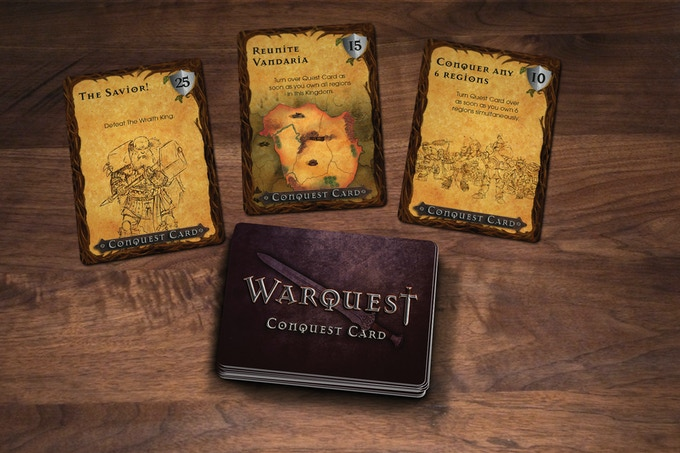 Conquest Cards