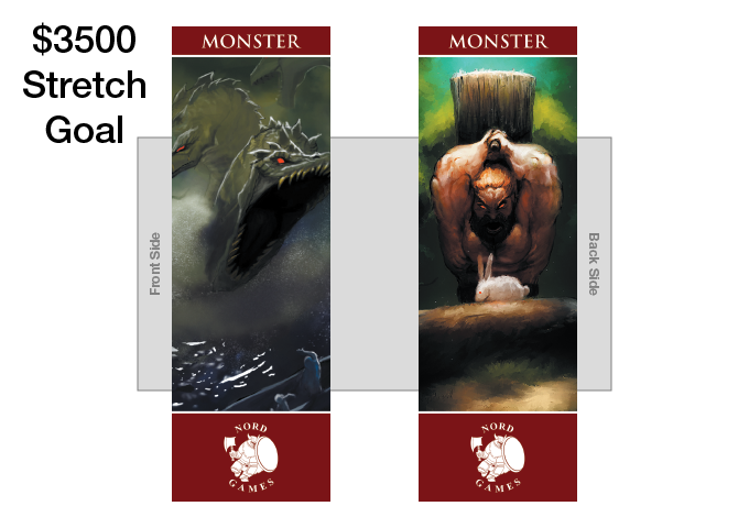 New Monster Bookmark with new Artwork and Maroon Border Added to GM Pack (UNLOCKED)
