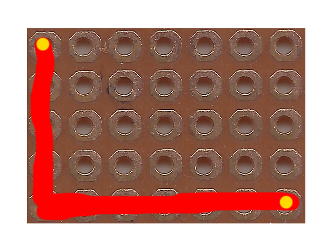 compared to traditional perfboards