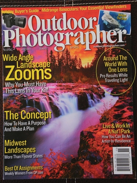 My 'Around the World with 1 Lens' Article in Outdoor Photographer Magazine