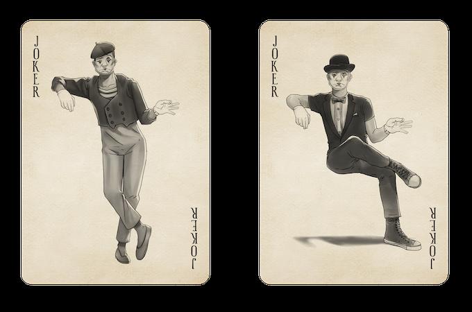 Original Vintage Joker & Buskers Exclusive Joker