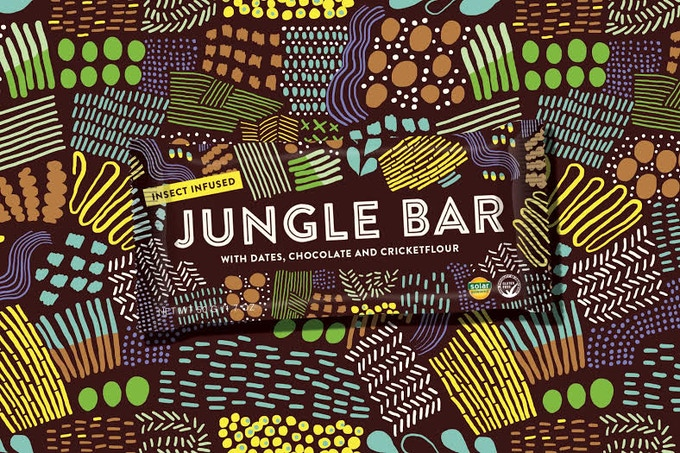 The Jungle Bar packaging