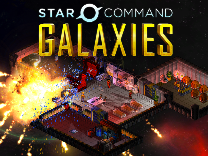 Star Command Galaxies is the sequel to the 2012 hit mobile game. Manage your crew and explore a randomly generated galaxy with planets, ships, and more! Join the alpha today for PC/Mac/Linux.