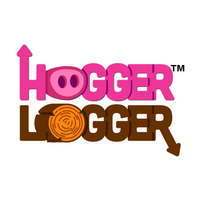 Hogger Logger is a family fun card game with lumberjacking pigs.