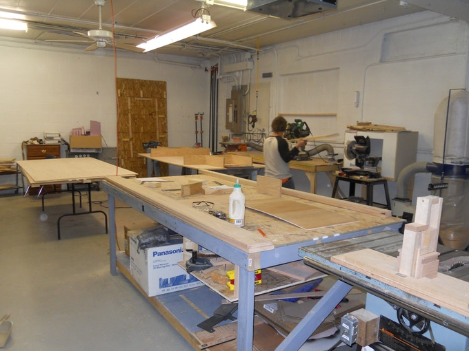 Here is an image of the shop where your box will be made. Right here in Wisconsin; the birthplace of RPGs.