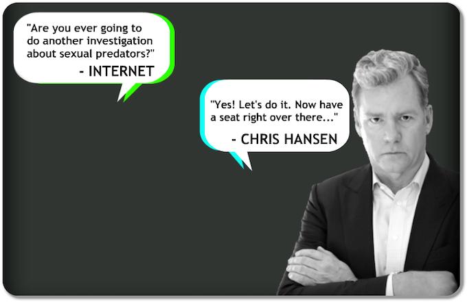 Hansen vs. Predator by CHRIS HANSEN —Kickstarter