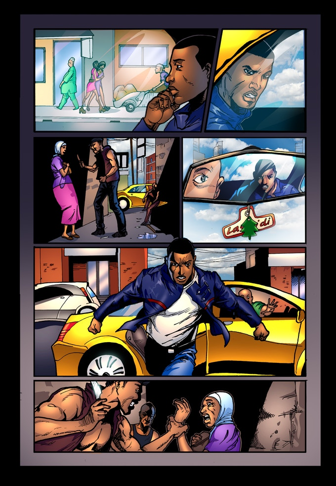 E.X.O. - The Legend of Wale Williams Part One Page 18
