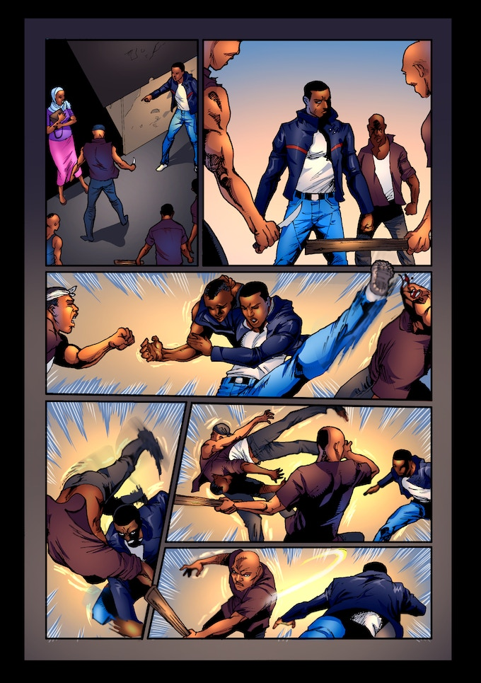 E.X.O. - The Legend of Wale Williams Part One Page 19