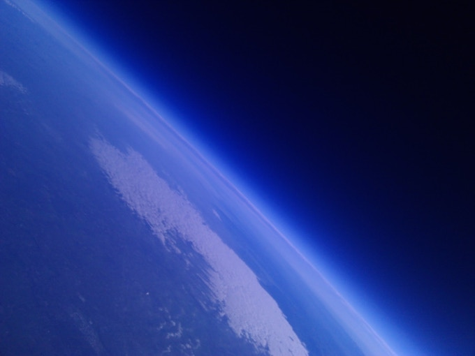 Our near-space missions capture beautiful pictures of Earth.
