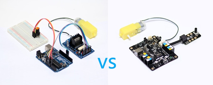 Arduino Wiring VS mCore wiring