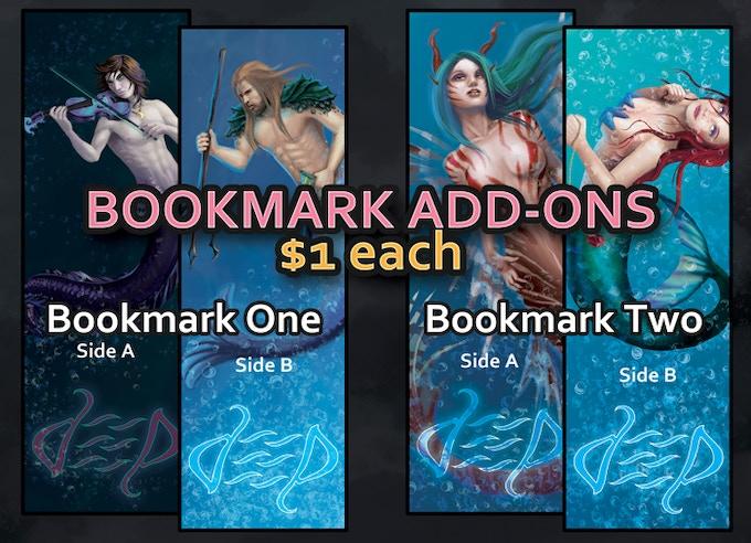 Add $1 to your pledge per bookmark desired.