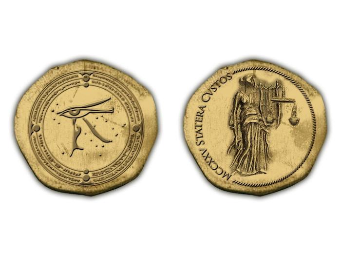 Exclusive Guardians Inc. Golden Coins