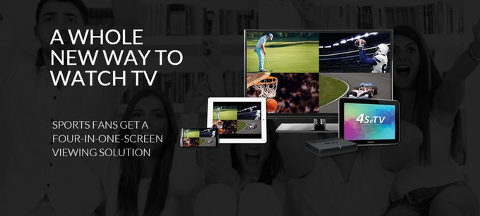 New 4SeTV streaming device brings four-in-one viewing experience to tablets, smartphones and TVs